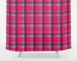 Pink Tartan Curtains Blush Pink Palm Leaf Shower Curtain Leaf Shower Curtain Palm