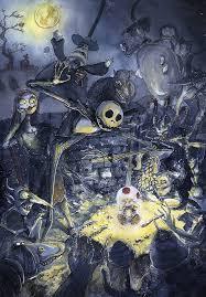 nightmare before christmas halloween background fan art friday the nightmare before christmas by techgnotic on