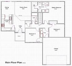 33 home plans one story open concept one story house plans with