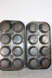 vintage ecko mini muffin tins ekco 080 chicago vintage kitchen