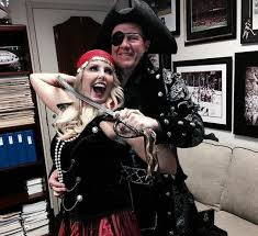 Kyle Busch Halloween Costume Patriots Coach Bill Belichick Dressed Pirate Halloween