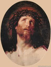 jesus crowned with thorns goblen art