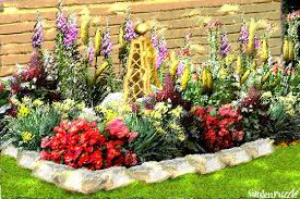 Backyard Flower Bed Ideas Garden Design Garden Design With Front Yard And Backyard
