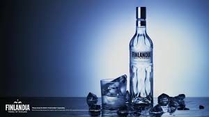 alcoholic drinks wallpaper ice vodka alcohol finland drinks liquor blue background