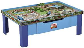 thomas the train wooden track table thomas friends wooden railway grow with me play table toys r us
