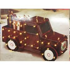 home accents 28 5 led antique truck with gift boxes 80