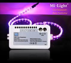 rgb led light controller mi light sale mini rgb led controller bluetooth strip light