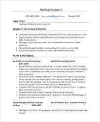 Front Desk Position Resume Medical Assistant Front Office Resume Front Desk Job Description