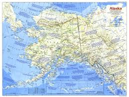 Alaska Map With Cities And Towns by 1984 Alaska Map Side 1 Historical Maps