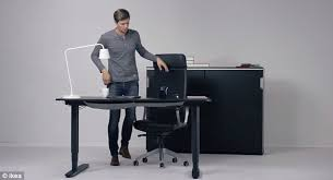 Stand Up Desk Conversion Ikea Ikea Reveals Convertible Standing Desk That Can Become A Normal