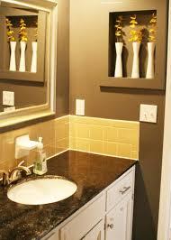 brown bathroom ideas attractive yellow and brown bathroom ideas 19 excellent 7