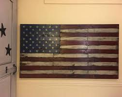wooden flag wall flag wall etsy