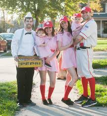 a league of their own costume awesome family costume ideas