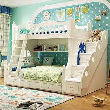Boys Bunk Beds Aliexpress Buy Louis Fashion Solid Wood Bunk Bed For