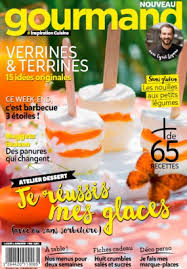 magazine gourmand nouvelle formule gourmand