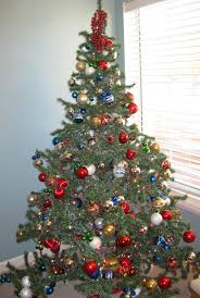 making a christmas tree christmas lights decoration