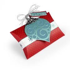 pillow box w ornaments sizzix bigz l die serata