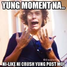 Meme Photos Tagalog - crush meme