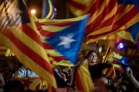 photos from catalonia u0027s independence vote the atlantic