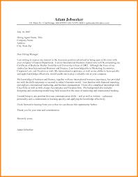 Teaching Application Cover Letter Surprising Cover Letter Internship Sample 12 Letter Example