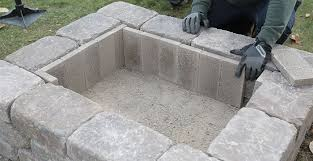 Firepit Bricks How To Build A Custom Pit