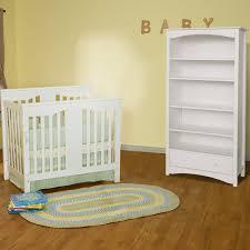 White 2 Shelf Bookcase by Da Vinci 2 Piece Nursery Set Annabelle Mini Crib U0026 Jayden 5