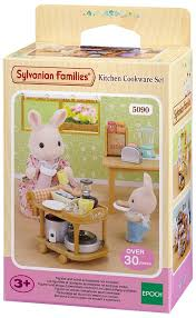 sylvanian families cuisine kitchen cookware set sylvanian families europe figure