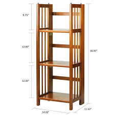 22 Inch Wide Bookcase 3 Shelf Folding 14 Inch Wide Bookcase Free Shipping Today