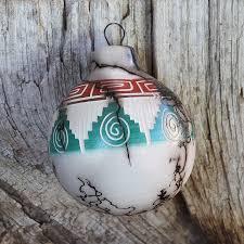 navajo horsehair pottery ornament by ronald smith navajo pottery