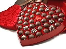 valentines chocolate 41 pc s day chocolate heart of truffles li lac chocolates
