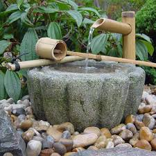 kiku bachi japanese water basin kyoto range garden water bowl