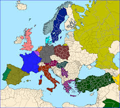 Blank European Map by Otl U0027standard U0027 Maps Of Europe Alternate History Discussion