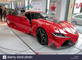 showroom toyota the toyota ft 1 concept car on display in the paris toyota car
