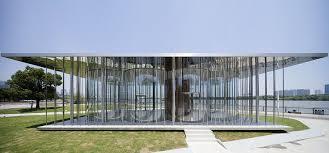 new shanghai pavilion by schmidt hammer lassen looks like a cloud