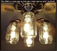 How To Install A Harbor Breeze Ceiling Fan Mason Jar Ceiling Fan Light Kit New Quart Jars U2013 The Lamp Goods
