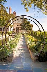 garden arch with gate nz home outdoor decoration