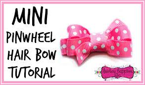 how to make baby hair bows mini pinwheel hair bow tutorial baby hair bow hairbow supplies