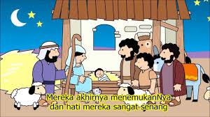 film kartun anak sekolah film animasi yesus lahir dari tiny bible treasure youtube