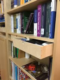 give billy bookshelf easy drawers with moppe ikea hackers ikea