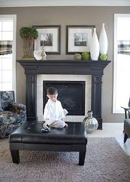 fireplace decorating ideas 25 best black fireplace mantels ideas on pinterest brown mantel