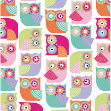 kids wrapping paper kids wrapping paper owls 3m gift wrap