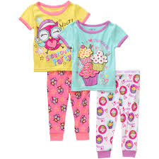 glow in the dark halloween pajamas garanimals newborn baby tight fit c walmart com