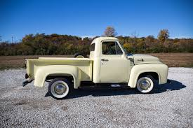 Vintage Ford Truck Apparel - 1955 ford f100 fast lane classic cars
