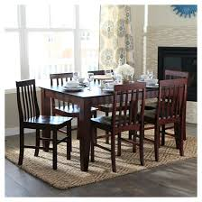 furniture kitchen set 7pc espresso wood dining kitchen set saracina home target