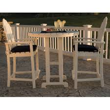 Adirondack Outdoor Furniture Polywood Classic Adirondack Bar Set Pw Adirondack Set2