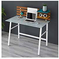 Amazoncouk Glass  Desks  Workstations  Home Office Furniture