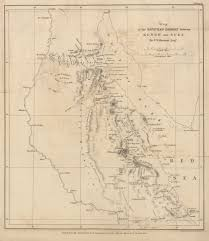Atacama Desert Map Maps From The Journal Of The Royal Geographical Society Of London