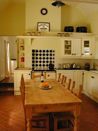 the traditional irish kitchen at our wicklow cottage rental our