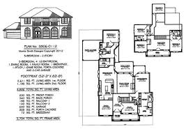 two story house plans with front porch 5 bedroom to estate 4500 sq ft