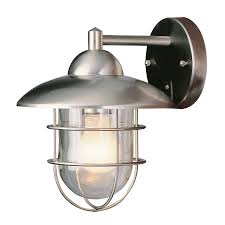 Lowes Outdoor Security Lighting by Porch Lights At Lowes 50 Shop Portfolio Brayden 1413in H Mystic